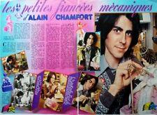 ALAIN CHAMFORT =>  COUPURE DE PRESSE 2 pages 1974 / CLIPPING