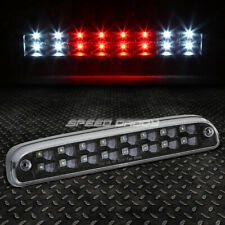 [2-ROW LED]FOR 99-16 SUPER DUTY RANGER THIRD 3RD TAIL BRAKE LIGHT LAMP BLACK