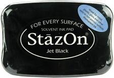Tsukineko StazOn Ink Pad - Jet black - Stamping Crafting StazOn Ink Pad