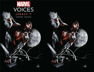 MARVEL VOICES LEGACY #1 GABRIELE DELL'OTTO SET OF 2 Miles Morales NM Presale