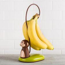 Monkey scimmietta con coda porta banane metallo e plastica  EX-60629