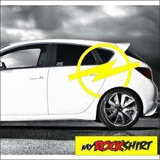 Aufkleber Opel Logo 60 cm  Autoaufkleber Sticker