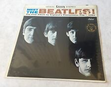 Meet the Beatles, FACTORY SEALED, Capitol ST 2047 Stereo Vinyl LP Record