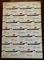 ' THE SAVOY OF LONDON ' : Compton MACKENZIE : 1st. Edition : 1953 + Vintage CARD