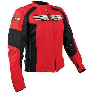 NOS SPEED AND STRENGTH 875887 RADAR LOVE MESH JACKET RED BLACK SIZE WOMENS SMALL