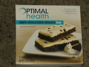 NEW Optavia Optimal Health dark chocolate dream bar 7 fuelings 12/21 1 full box!
