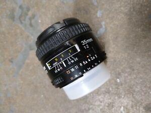 Nikon AF NIKKOR 35mm f2 Wide Angle Lens