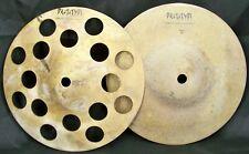"Sabian Prototype AA 8"" Sick Hi Hat Cymbals/New-Warranty/T-198g+B-257g/Rare"