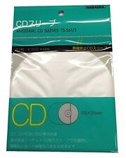 Nagaoka Anti-Static Inner CD Sleeves 1 pack 20 sheets TS-561/3  Antistatic