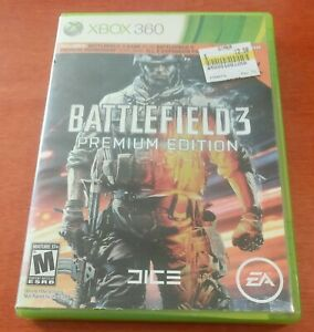 Battlefield 3 Premium Edition Microsoft Xbox 360 DICE  EA Electronic Arts