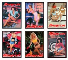 1:18 scale model Snap On Tools garage auto shop pin up posters signs