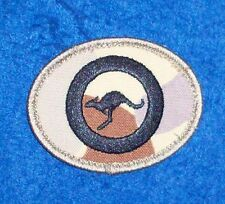 AIR FORCE ROUNDAL PATCH DESERT CAMO SHOULDER TITLE - OBSOLETE NEW PATTERN