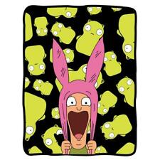 Bobs Burgers - Louise Surrounded By Kupi Fleece Blanket