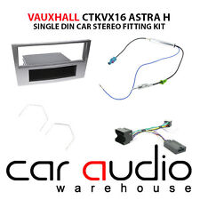 Vauxhall Astra 2004-10 Car Stereo S/Din Fascia Steering Wheel Interface CTKVX16