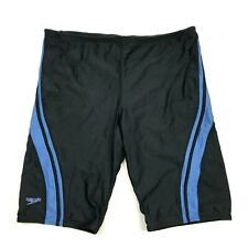Speedo Mens Jammer Swimsuit Shorts Size 38 Fitted Trunks Competition Water Sport