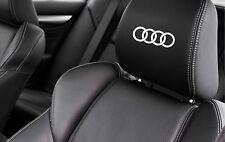 5 x Audi Anelli Seggiolino Auto Decalcomania A1 A2 A3 A4 A5 A6 TT Vinile Adesivi Grafica