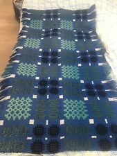 More details for royal blue chunky welsh tapestry rug