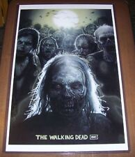 The Walking Dead Bicycle Girl 11X17 Poster