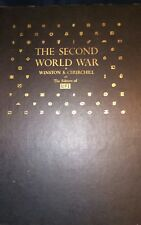 """The Second World War By Winston Churchill And The Editors Of Life + 10"""" LP  1959"""