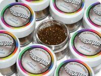 JEWEL CINNAMON Gold Bronze Rainbow Dust Cake Edible Glitter POT *SAME DAY POST