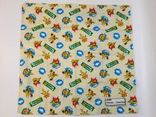 "Pocket Monsters Bandana Vintage Pokemon Pikachu Elekid Cyndaquil 18.25""x18.25"""
