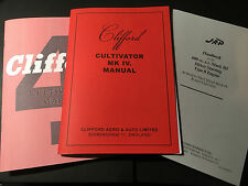 Clifford Mark IV Cultivator (Birmingham & West Horndon) & JAP Engine Manuals A4