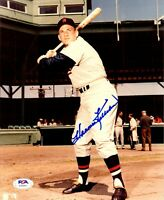 Harmon Killebrew autographed signed 8x10 photo MLB Minnesota Twins PSA COA