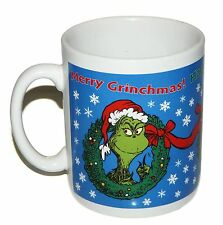 Hallmark Dr Seuss Happy Who Year Merry Grinchmas Grinch Christmas Mug Giant