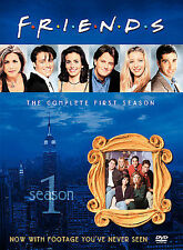 Friends - The Complete First Season (DVD, 2002, 4-Disc Set, Four Disc Boxed GOOD