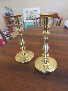 Baldwin Brass Candlesticks Pair
