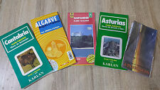 5-Travel Guides-NEW JERSEY, ALGARVE, ASTURIAS, CANTABRIA & SANTANDER--5 MAPS