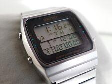"SEIKO LCD A714-5050 ""RUNNING MAN"" - Rare Vintage Watch"