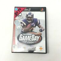 NFL GameDay 2004 PS2 Sony PlayStation 2, 2003 Football Video Game