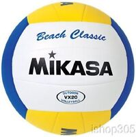 Mikasa VX20 Beach Classic Volleyball Official Size