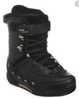 $190 Elan Betty SB Snowboard Boots Womens Size 8.5, 26 Black Gold NIB