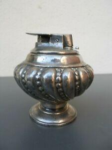 Vintage Briquet Ronson métal argenté