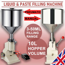 Pneumatic/Manual Liquid Paste Bottle Filling Machine 5-50Ml Filler Shampoo Oil