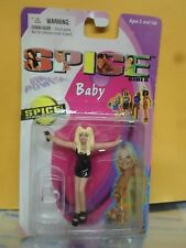 "Spice Girls Girl Power Mini 3"" BABY FIgure #62016 Toymax 1998 Black Dress"