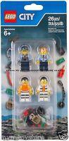 PRON. CONS. - LEGO 853570 CITY ACCESSORI CASERMA DELL'ISOLA POLICE ACCESSORY SET