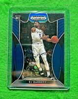 RJ BARRETT PRIZM BLUE ROOKIE CARD JERSEY #5 KNICKS 2019 PANINI PRIZM DRAFT PICKS