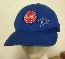 DETROIT PISTONS beat-up baseball hat Joe Dumars basketball cap 1980s snapback