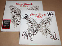 HAND-SIGNED Stone Temple Pilots Self-Titled CD Autographed Autograph STP Meadow