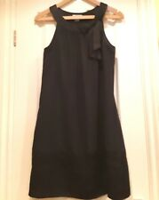 H&M BLACK DRESS SIZE 6 (LIGHTENED TO SHOW DETAIL PICTURES DON'T DO IT JUSTICE)