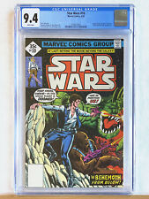 STAR WARS #10 : CGC 9.4 NM : 1978 Marvel, Han Solo story