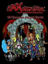 Apocalypse 2500 50 Character Record Sheets by J. L. Arnold (2014, Paperback)