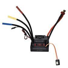 Rcharlance 120A Impermeable Brushless ESC con ventilador de refrigeración para 1/10 1/8 RC Coche