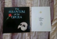 VG The Phantom Of The Opera With All Inserts And Programme