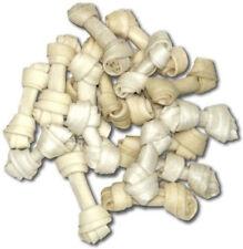 "HDP Rawhide Natural Mini Bones 2.5"" Dog Chew 100 pack"