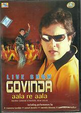 LIVE SHOW GOVINDA AALA RE AALA - BOLLYWOOD HIT SONG DVD - FREE UK POST