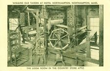 North Hampton,Ma. Wiggins Old Tavern, the Loom Room